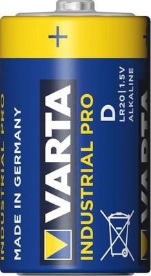 Varta Cons.Varta Batterie Industrial D Mono, R20, Al-Mn 4020 Ind. Stk.1