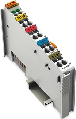 WAGO Kontakttechnik Digitale Eingangsklemme 2-Kanal DC24V 3.0ms 750-400