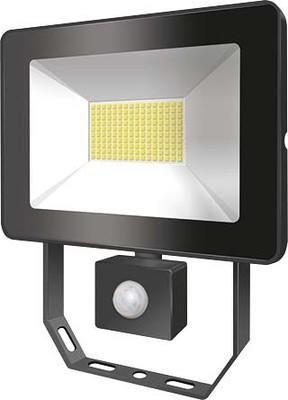 ESYLUX LED-Strahler mit BWM 3000K schwarz AFLBASICLED10W 3K BK