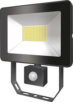 ESYLUX LED-Strahler mit BWM 4000K schwarz AFLBASICLED10W 4K BK