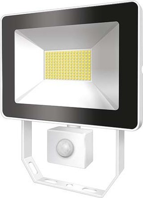 ESYLUX LED-Strahler mit BWM 4000K weiß AFLBASICLED10W 4K WH