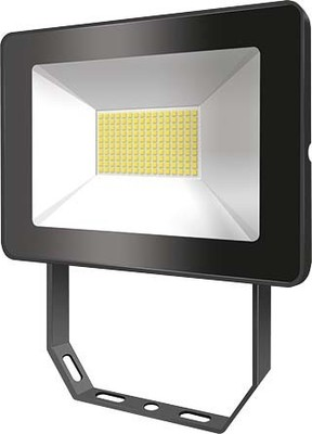 ESYLUX LED-Strahler 3000K schwarz OFLBASICLED10W 3K BK
