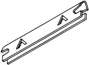 Rehau Elektro.Inst. Erdungsclip für Trennwand BKS Erdungsclip